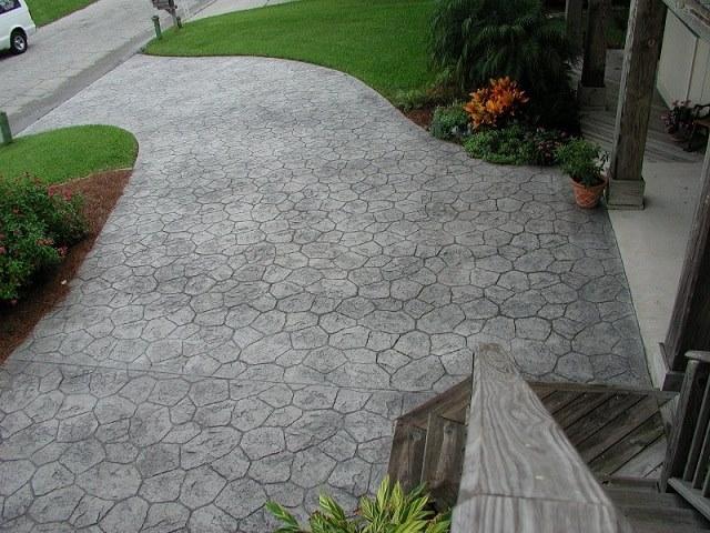B ton imprim avec beaucoup resistance pour votre terrasse for Prix d une terrasse en beton
